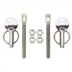 Stainless Hood Pins with Captive Clips (PR)