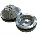 Chev Short Water Pump Front Pulley Set