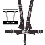 G-Force 5pt Latch & Link Safety Harness SFI 16.1 -  Black