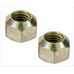 Wheel Nut Racing  - Large 1 inch Hex x 1/2 Inch Fine Thread 5 Pkt